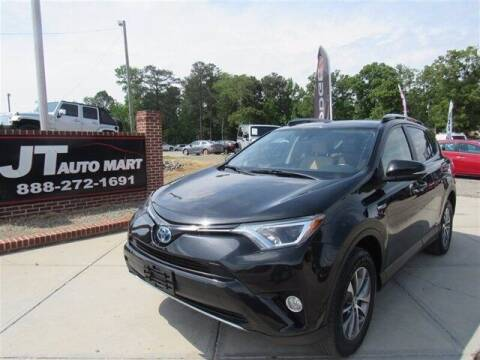 2017 Toyota RAV4 Hybrid for sale at J T Auto Group in Sanford NC