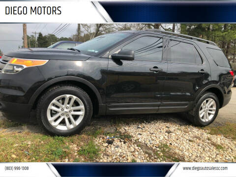 2015 Ford Explorer for sale at DIEGO MOTORS in Lexington SC