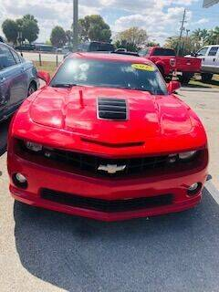 2012 Chevrolet Camaro for sale at DAN'S DEALS ON WHEELS in Davie FL