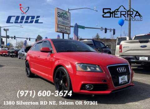 2011 Audi A3 for sale at SIERRA AUTO LLC in Salem OR