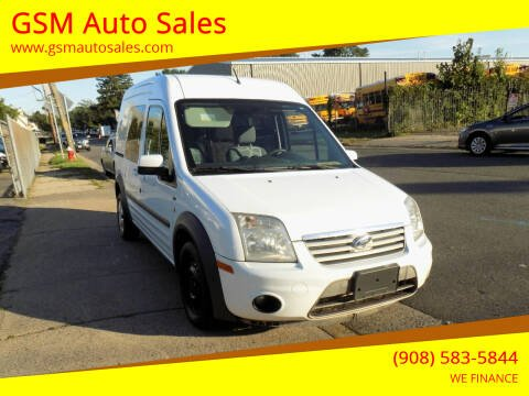 2011 Ford Transit Connect for sale at GSM Auto Sales in Linden NJ