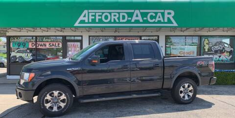 2012 Ford F-150 for sale at Afford-A-Car in Dayton/Newcarlisle/Springfield OH