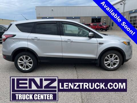 2017 Ford Escape for sale at LENZ TRUCK CENTER in Fond Du Lac WI