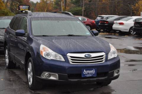 2010 Subaru Outback for sale at Amati Auto Group in Hooksett NH
