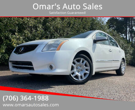 2012 Nissan Sentra for sale at Omar's Auto Sales in Martinez GA