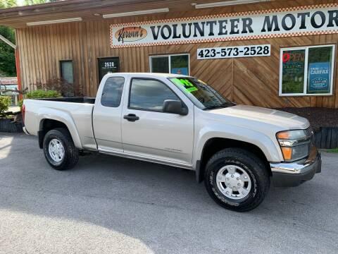 2005 Chevrolet Colorado for sale at Kerwin's Volunteer Motors in Bristol TN