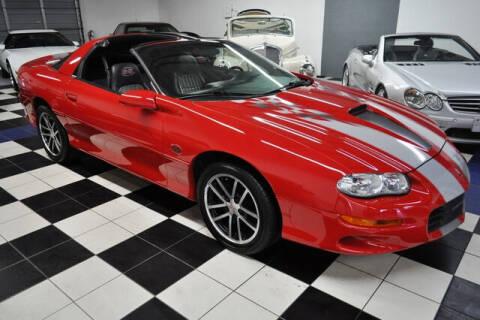 2002 Chevrolet Camaro for sale at Podium Auto Sales Inc in Pompano Beach FL