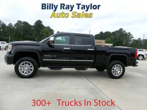 2016 GMC Sierra 2500HD for sale at Billy Ray Taylor Auto Sales in Cullman AL