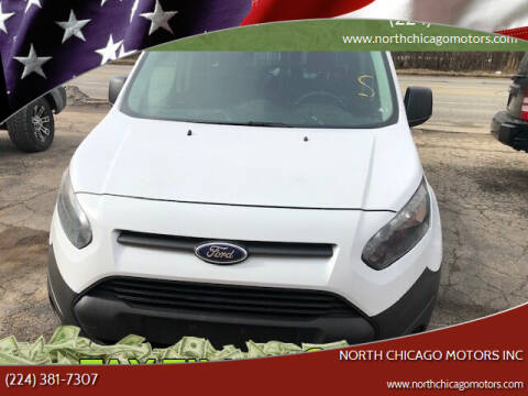 2015 Ford Transit Connect Cargo for sale at NORTH CHICAGO MOTORS INC in North Chicago IL