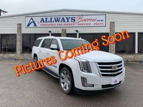 2017 Cadillac Escalade ESV for sale at ATASCOSA CHRYSLER DODGE JEEP RAM in Pleasanton TX