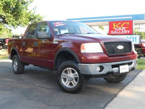 2006 Ford F-150 for sale at KC Car Gallery in Kansas City KS