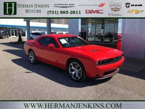 2016 Dodge Challenger for sale at Herman Jenkins Used Cars in Union City TN