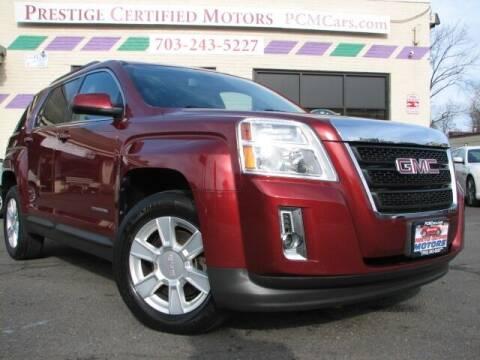 2012 GMC Terrain for sale at Prestige Certified Motors in Falls Church VA