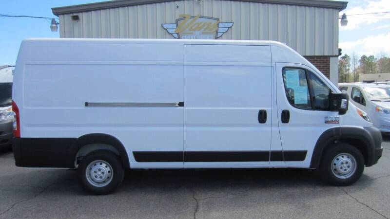 2020 RAM ProMaster Cargo for sale at Vans Of Great Bridge in Chesapeake VA