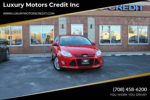 2012 Ford Focus for sale at Luxury Motors Credit Inc in Bridgeview IL