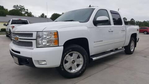 2013 Chevrolet Silverado 1500 for sale at Crossroads Auto Sales LLC in Rossville GA
