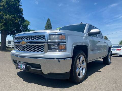 2014 Chevrolet Silverado 1500 for sale at Pacific Auto LLC in Woodburn OR