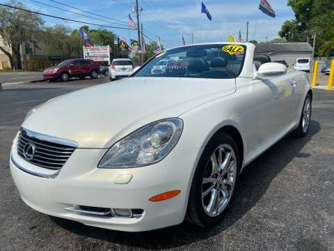 2006 Lexus SC 430 for sale at RoMicco Cars and Trucks in Tampa FL