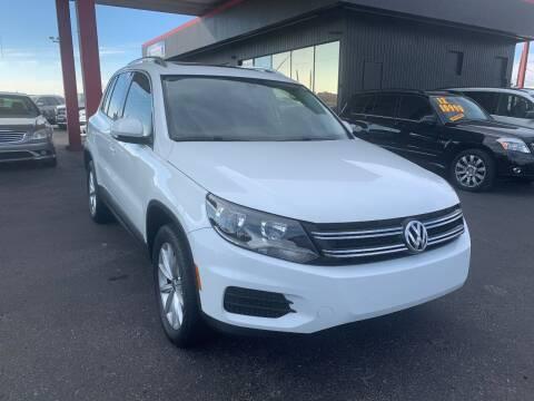 2017 Volkswagen Tiguan for sale at JQ Motorsports East in Tucson AZ