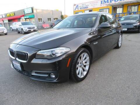 2015 BMW 5 Series for sale at Import Auto World in Hayward CA