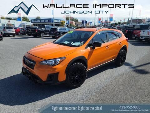 2018 Subaru Crosstrek for sale at WALLACE IMPORTS OF JOHNSON CITY in Johnson City TN