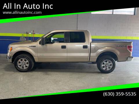 2012 Ford F-150 for sale at All In Auto Inc in Addison IL