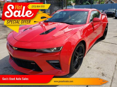 2016 Chevrolet Camaro for sale at Gus's Used Auto Sales in Detroit MI