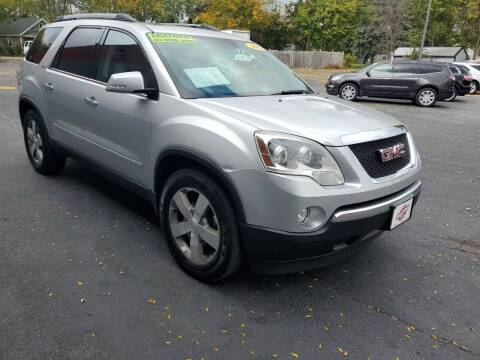 2011 GMC Acadia for sale at Stach Auto in Janesville WI