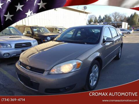 2006 Chevrolet Impala for sale at Cromax Automotive in Ann Arbor MI