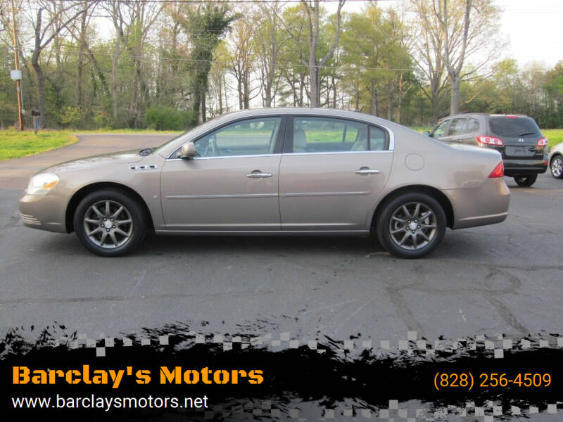 2006 Buick Lucerne for sale at Barclay's Motors in Conover NC
