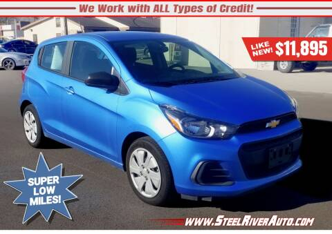 2017 Chevrolet Spark for sale at Steel River Auto in Bridgeport OH