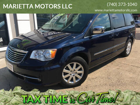 2012 Chrysler Town and Country for sale at MARIETTA MOTORS LLC in Marietta OH