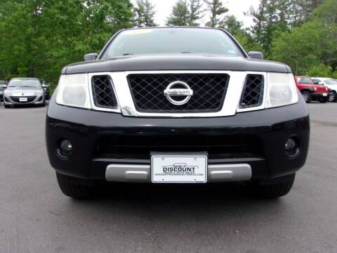 2010 Nissan Pathfinder for sale at Mark's Discount Truck & Auto in Londonderry NH