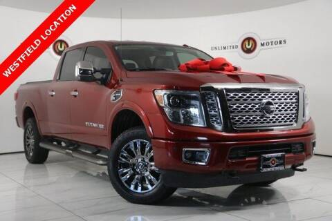 2016 Nissan Titan XD for sale at INDY'S UNLIMITED MOTORS - UNLIMITED MOTORS in Westfield IN