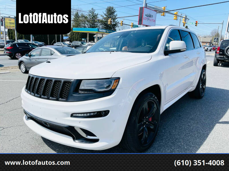 2015 Jeep Grand Cherokee for sale at LotOfAutos in Allentown PA