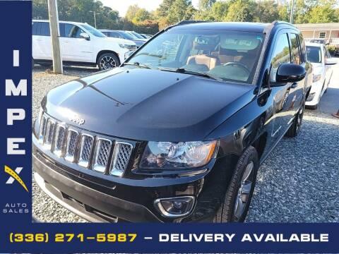 2017 Jeep Compass for sale at Impex Auto Sales in Greensboro NC