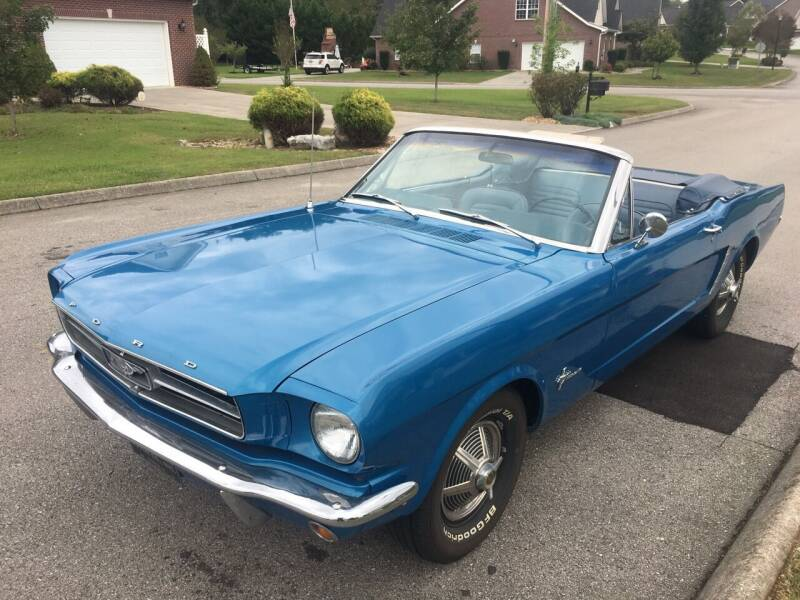 1965 Ford Mustang for sale at Worthington Motor Co, Inc in Clinton TN