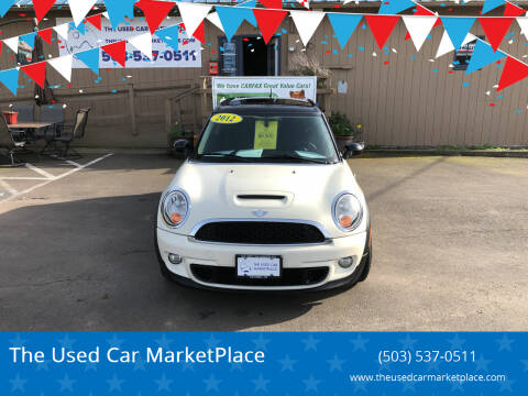 2012 MINI Cooper Clubman for sale at The Used Car MarketPlace in Newberg OR