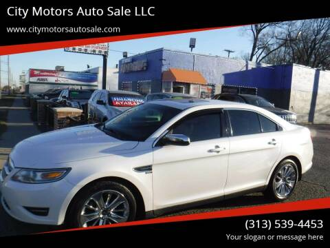 2011 Ford Taurus for sale at City Motors Auto Sale LLC in Redford MI