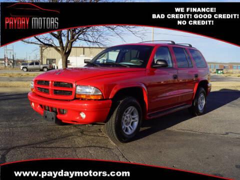 2004 Dodge Dakota for sale at Payday Motors in Wichita And Topeka KS