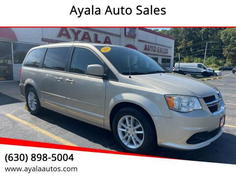 2014 Dodge Grand Caravan for sale at Ayala Auto Sales in Aurora IL