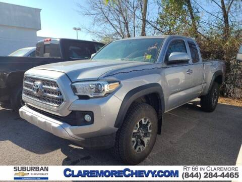 2016 Toyota Tacoma for sale at Suburban Chevrolet in Claremore OK