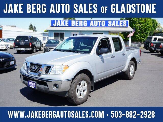 2011 Nissan Frontier for sale at Jake Berg Auto Sales in Gladstone OR