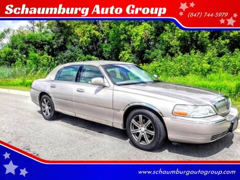 2003 Lincoln Town Car for sale at Schaumburg Auto Group in Schaumburg IL