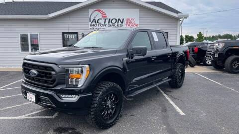 2021 Ford F-150 for sale at Action Motor Sales in Gaylord MI