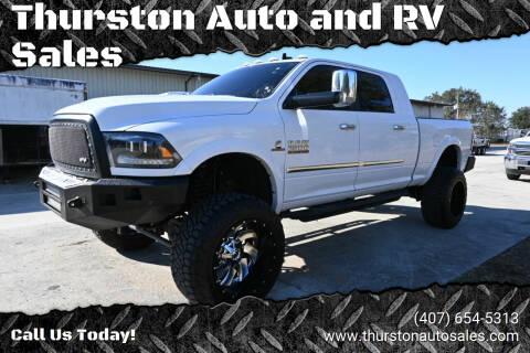 2016 RAM Ram Pickup 2500 for sale at Thurston Auto and RV Sales in Clermont FL