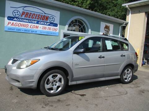 2004 Pontiac Vibe for sale at Precision Automotive Group in Youngstown OH