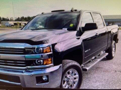 2016 Chevrolet Silverado 2500HD for sale at PHIL SMITH AUTOMOTIVE GROUP - SOUTHERN PINES GM in Southern Pines NC