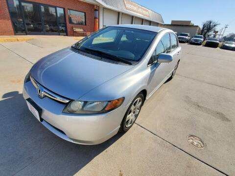 2008 Honda Civic for sale at Eden's Auto Sales in Valley Center KS