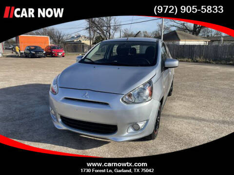 2014 Mitsubishi Mirage for sale at Car Now Dallas in Dallas TX
